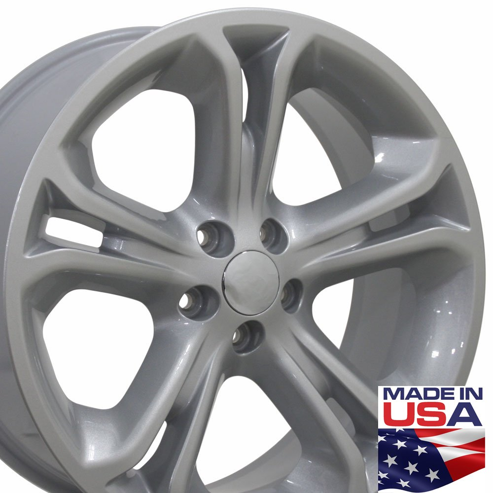 20x8.5 Wheel Fits Ford SUV - Explorer Style Silver Rim, Hollander 3860 by OE Wheels LLC (Image #1)