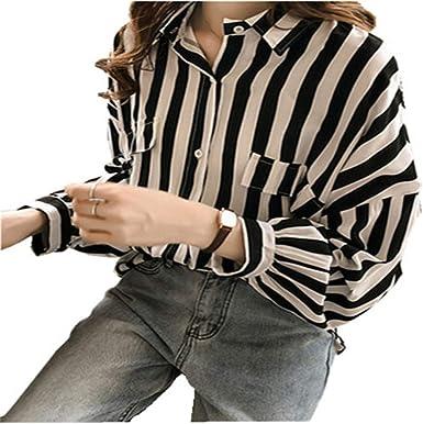 DISCOUNTL - Camiseta de manga larga para mujer, diseño de ...