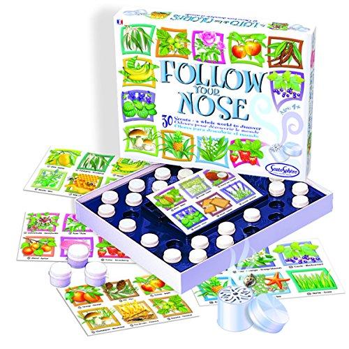Follow Your Nose Bingo Game (Nose Sense Of Smell)
