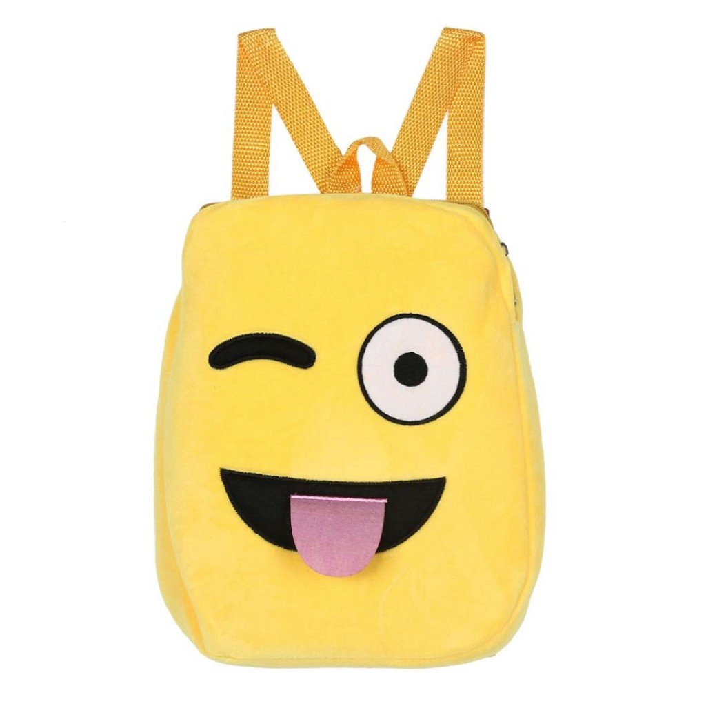Creazrise Women Backpack,Lovely Emoticons BackpacksForKids Yellow Girl Schoolbag (G)
