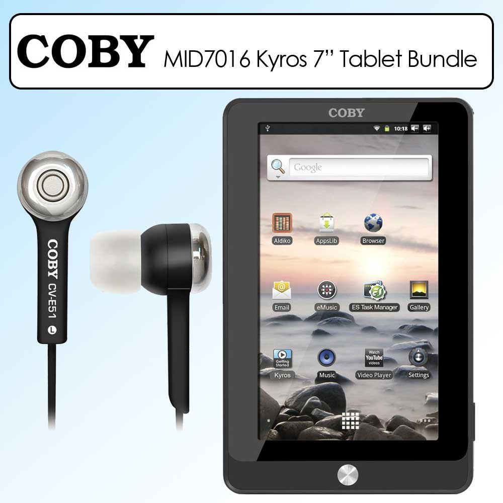 amazon com coby mid7016 7 inch kyros 4g android touchscreen rh amazon com