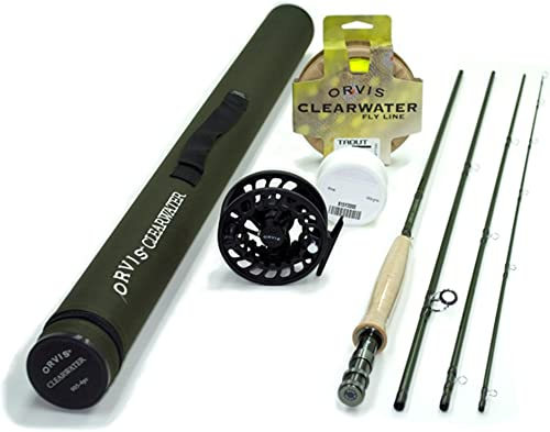 Orvis Clearwater Fly Rod Outfit 906-4 – 6wt 9ft 4pc