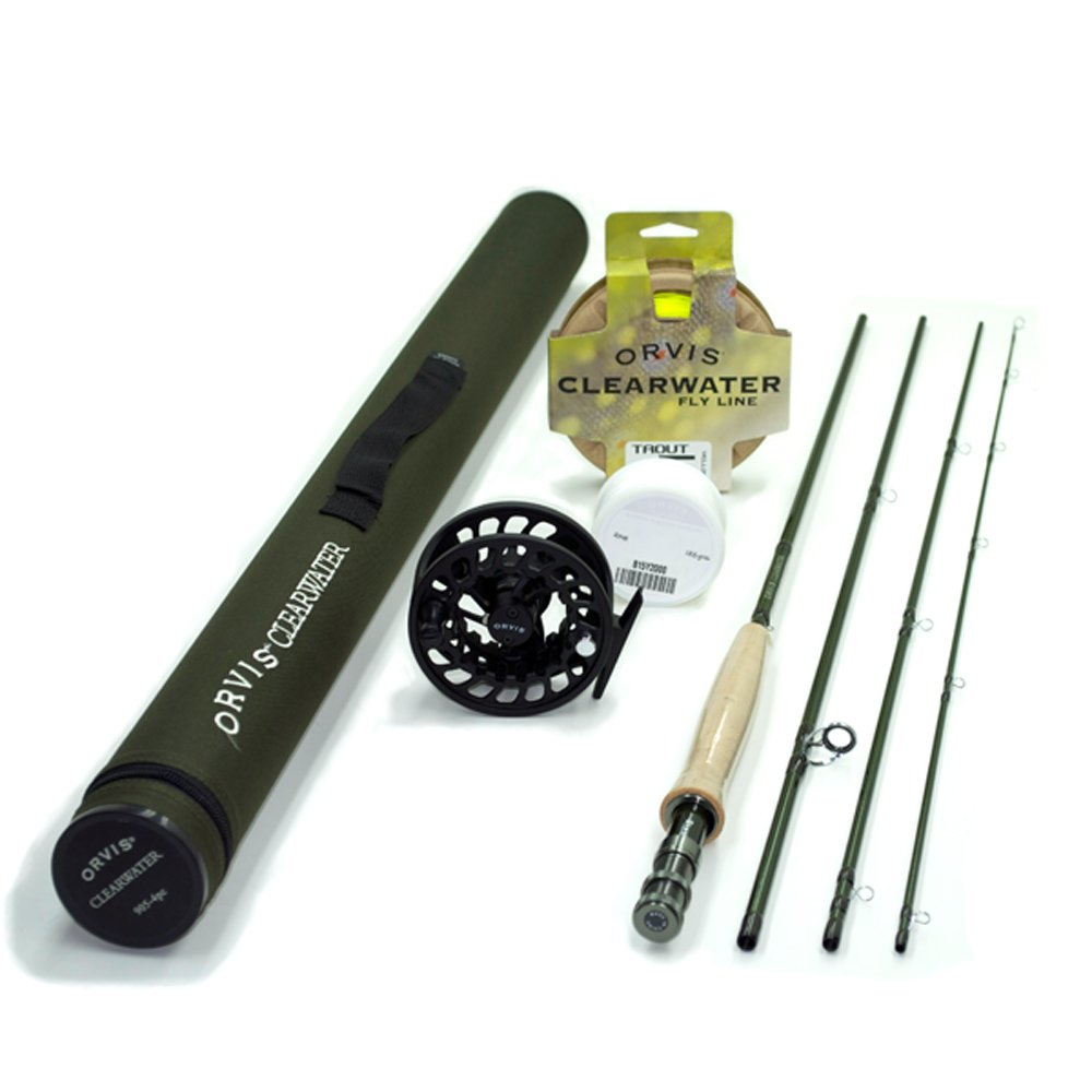 Orvis Clearwater 5-weight, 8 6 Fly Rod Outfit