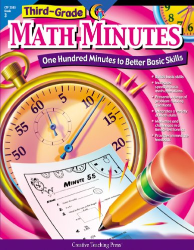 Math 2 Test Pack - Math Minutes, 3rd Grade (CTP 2585) (One Hundred Minutes to Better Basic Skills)
