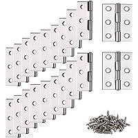 Scharnierband, stangscharnier, 20 stuks deurbandscharnier, scharnier, scharnier, scharnier, scharnieren met 6…