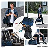 Business Travel Briefcase Duffel Bags for Men