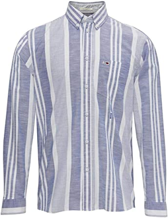TOMMY HILFIGER HOME - Camisa de Manga Larga Hombre Color: Blau ...