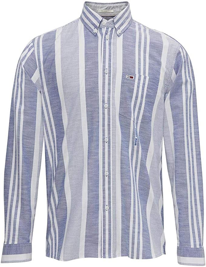 TOMMY HILFIGER HOME - Camisa de Manga Larga Hombre Color: Blau ...