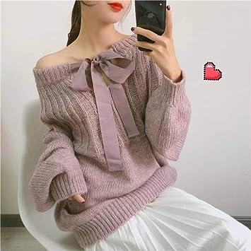 Jerseys Y Suéteres para Mujer Suéter Flojo, Mangas de Linterna ...