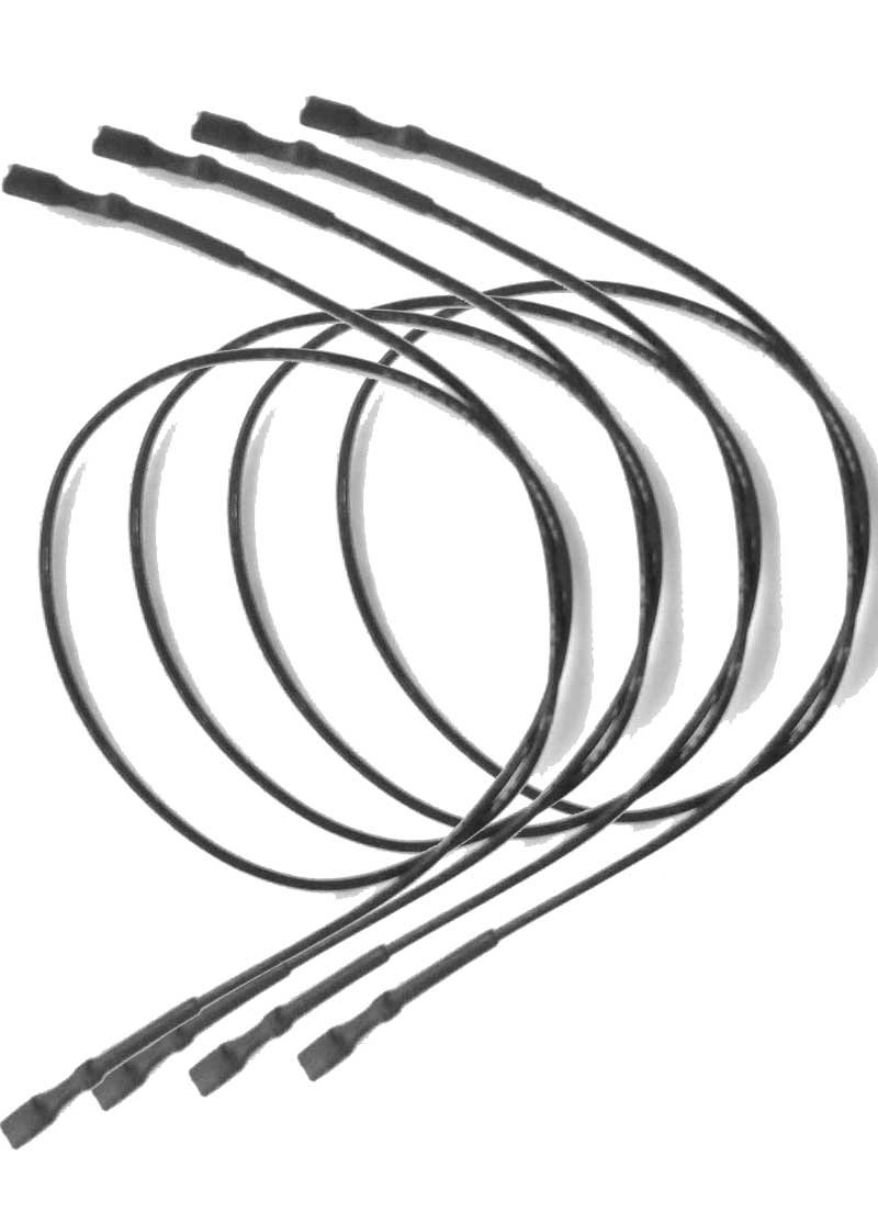 85-3030-8 85-3031-6 Ignitor Wire with Two Female Spade Connectors 2020 C550S Chargriller 2001 Set of 4
