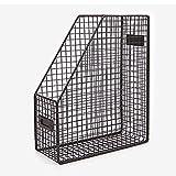 Magazine Rack Metal Wire Document File Folder Storage Basket Mail Holder