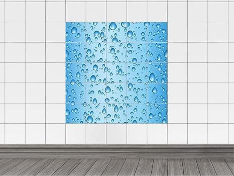 Adesivi piastrelle quadro per bagno goccia a goccia bildgröße