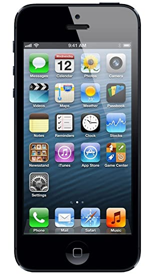 Apple iphone 5 16gb black sim free smartphone amazon apple iphone 5 16gb black sim free smartphone reheart Choice Image