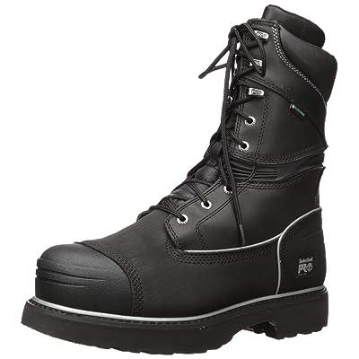 "Timberland PRO Men's Gravel Pit 10"" Steel Toe Waterproof Boot | Industrial & Construction Boots"