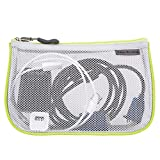 Travelon Set of 3 Assorted Piped Pouches, Gray, One