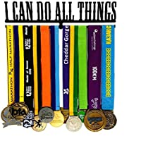 Funnytoday365 Classic Bible Scripture I Can Do All Things Sport Medal Hanger