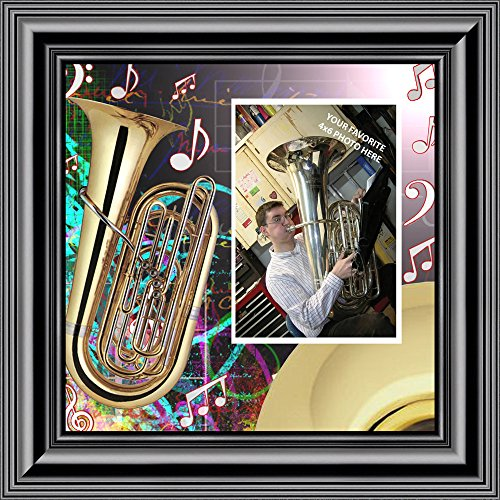 Fortune Cookie Invitations - Personally Yours Tuba, Marching Band Gifts Picture Frame, 10X10 3516B