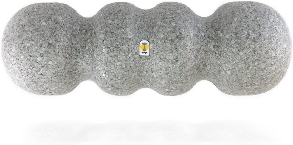 Rollga Foam Roller – Standard Self Massage Trigger Point Release Muscle Roller