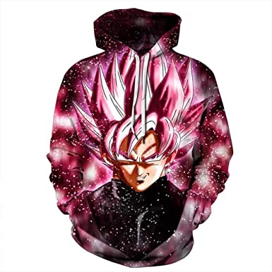 5d57fa298444 Men Women Dragon Ball z 3D Print Hoodie Sweater Mens Vegeta Sweatshirt  Wukong Long Sleeve Top