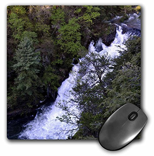3dRose WhiteOak Photography Waterfalls - Waterfall in North Georgia - MousePad (mp_51056_1)