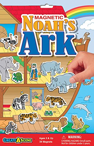 Create-A-Scene Magnetic Playset - Noah's Ark