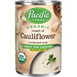 Pacific Foods Organic Cream Of Cauliflower Condensed Soup, 10.5oz (Pack of 12)