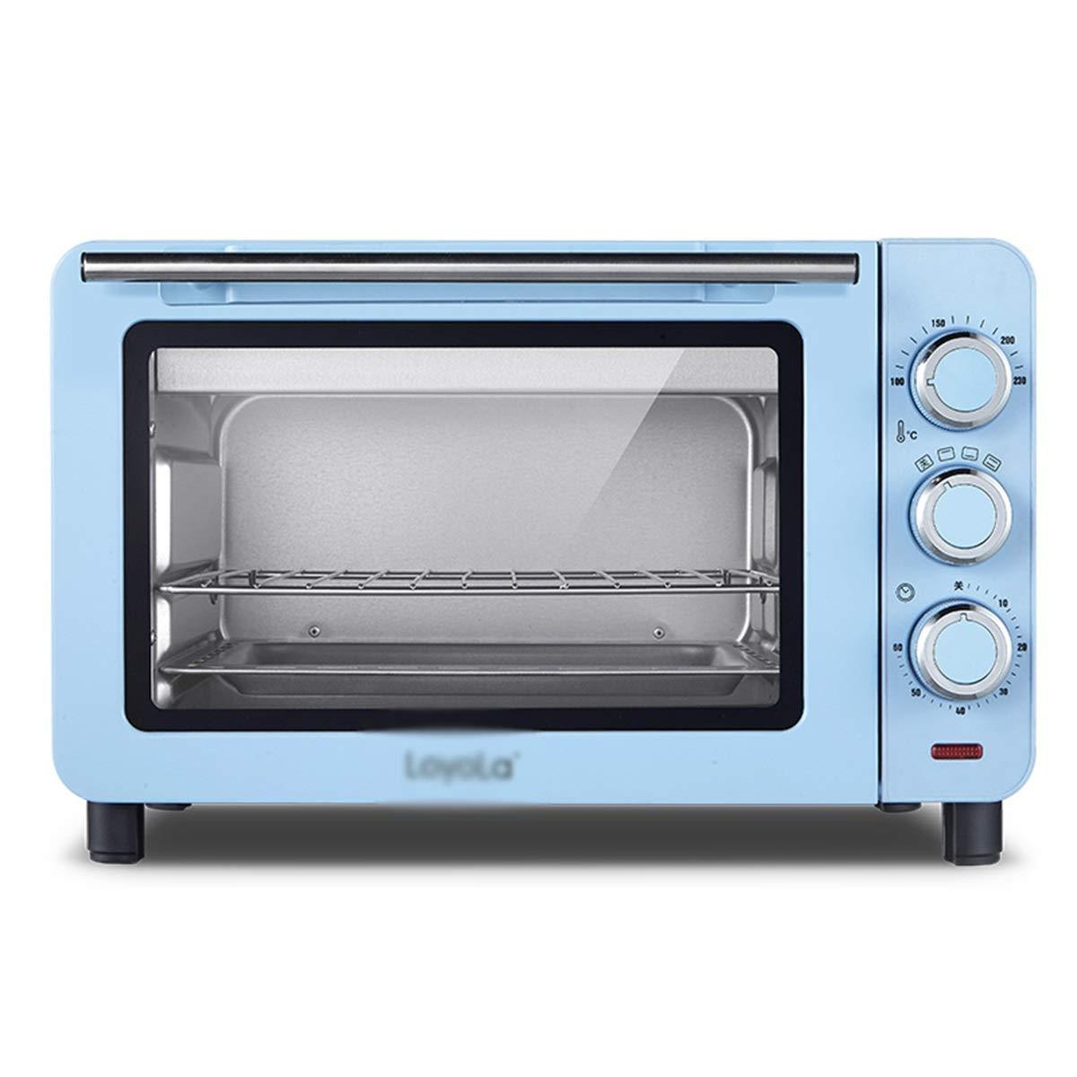 PANGU-ZC ミニオーブン - 多機能オーブンミニ家庭用ケーキベーキング小型オーブン小型電気オーブン -オーブン (色 : 青)  青 B07QPFSMDM