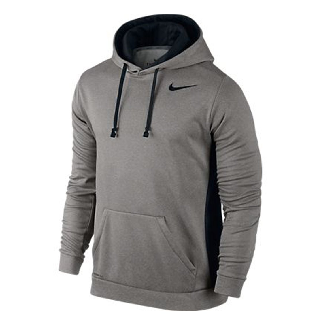 Mens Nike Ko Bsbl Greyish/White/Blue Training Hoodie