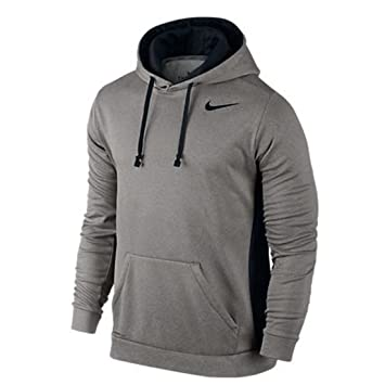 a8e54d2a Men's Nike KO Hoodie 3. 0 Grey Heather/Black Size X-Large: Amazon.in:  Sports, Fitness & Outdoors