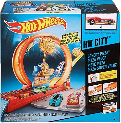 Hot Wheels Mattel Speedy Pizza Set, Multicolor