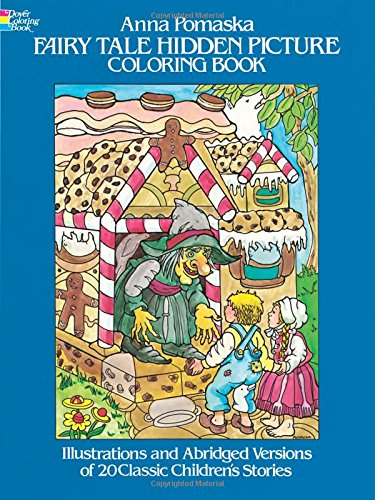 (Fairy Tale Hidden Picture Coloring Book (Dover Children's Activity Books))