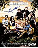 Shameless Cast Signed - Autographed 11x14 inch Photo - Guaranteed to pass BAS - Emmy Rossum, William H Macy, Noel Fisher, Emma Kenney, Ethan Cutkosky, Jeremy Allen White - Beckett Authentication