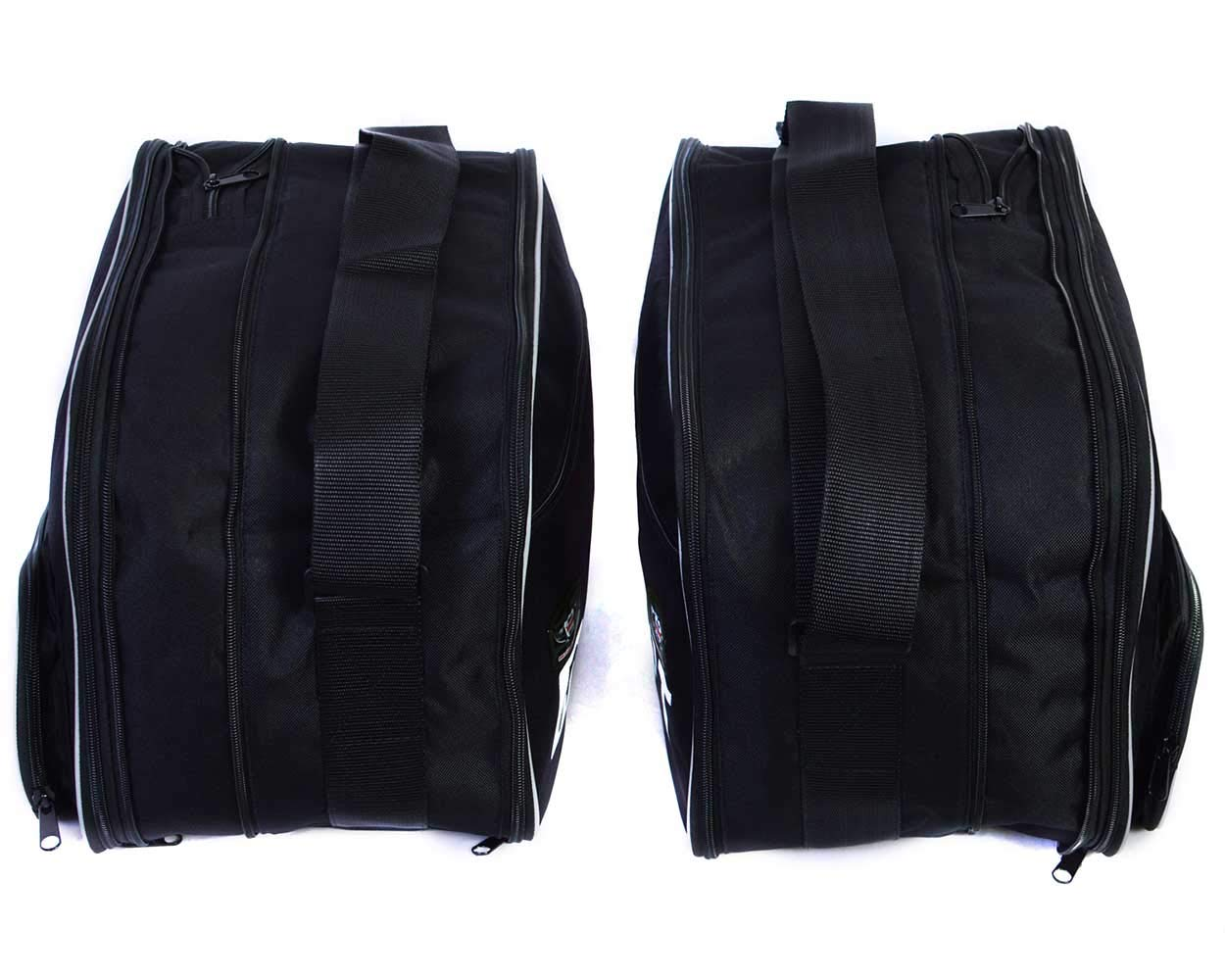 Bolsas para Bolsas Laterales BMW R1250RT Bolsas Impresas par Negro GREAT BIKERS GEAR
