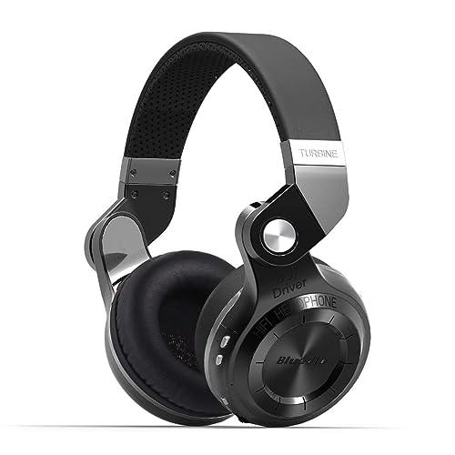 Bluedio T2S (Turbine 2 Shooting Brake) Bluetooth stereo headphones wireless headphones Bluetooth 4.1 headset on the Ear headphones Gift Package (Black)