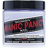 manic panic hair dye white - Virgin Snow White Manic Panic 4 oz Hair Dye