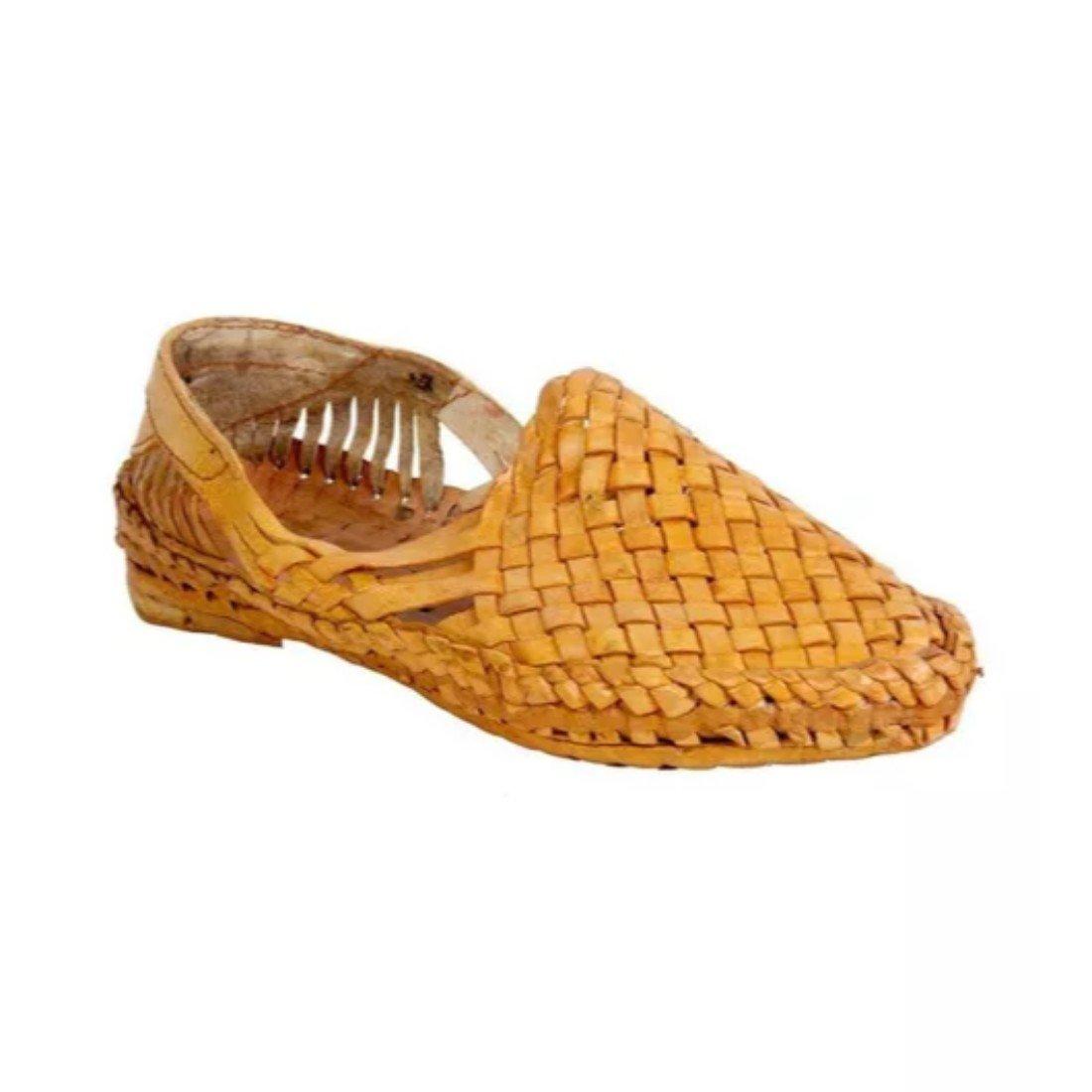 Sunlife Mart Rajwari Tan Handmade Kohlapuri Sandal Handmade Tan Indian Leather Traditional Shoes Purely Handcrafted Ethnic B07DGY5CWN Sandals a4e093