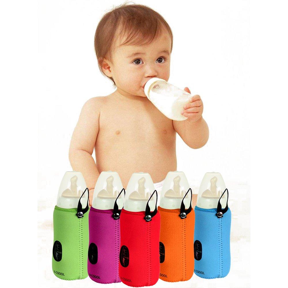 Portable Insulated Bottle Bags Baby Kid Feeding Milk Bottle Warmer Storage Holder Carrier Bag Best for Travel