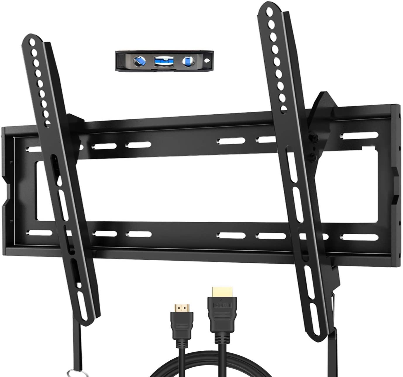 Fozimoa tv Wall mounts Bracket for Most 32-65 Inch tvs, Wall Mount for tv with Swivel articulating arms, Perfect Center Design tv mounts Wall, up to vesa 400x400mm and 165 lbs