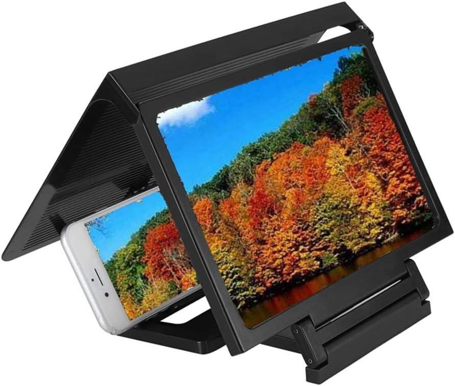 Eboxer Lupa de Pantalla del Teléfono, Lupa de Teléfono móvil 3D Video HD Amplificador de Pantalla de Alta definición, Ampliador de Pantalla para Personas Mayores, Niños, Amantes de Las Películas: Amazon.es: Electrónica