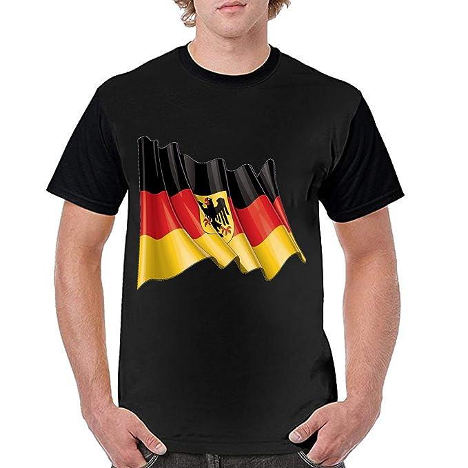 00194e63e42 Amazon.com  XIOZURV Men s T-Shirts Germany State Flag Casual Short Sleeve  Top Tees  Clothing