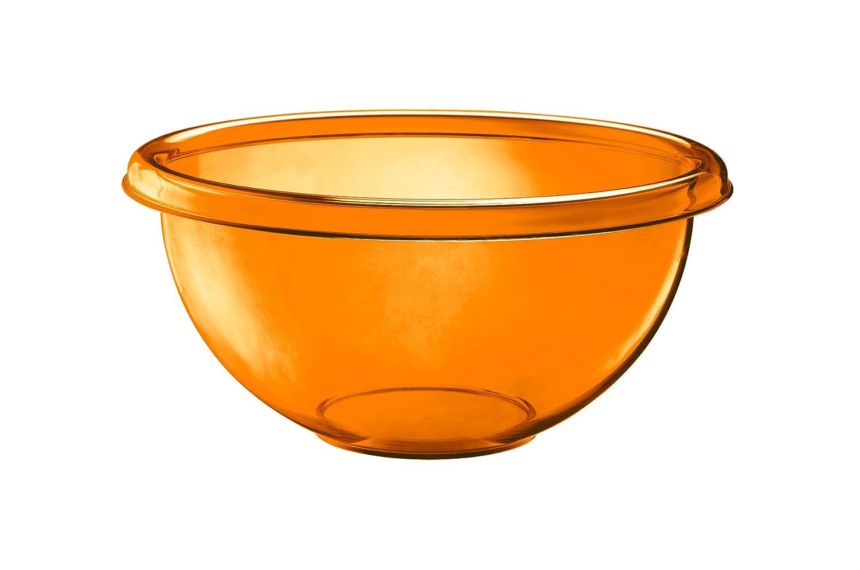 Orange Guzzini Happy Hour 9-1//2-Inch D Salad Bowl