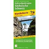 Nationalparkregion Sächsische Schweiz: Wanderkarte mit Malerweg und Elberadweg, wetterfest, reissfest, abwischbar, GPS-genau. 1:25000 (Wanderkarte / WK)