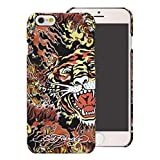 Ed Hardy Tiger On Fire iPhone 6 Plus Case, Brown