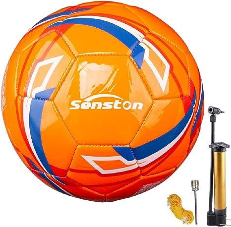 Senston Balones de Futbol Training Balón Balones de Fútbol de Entrenamiento Tamaño 5: Amazon.es: Deportes y aire libre