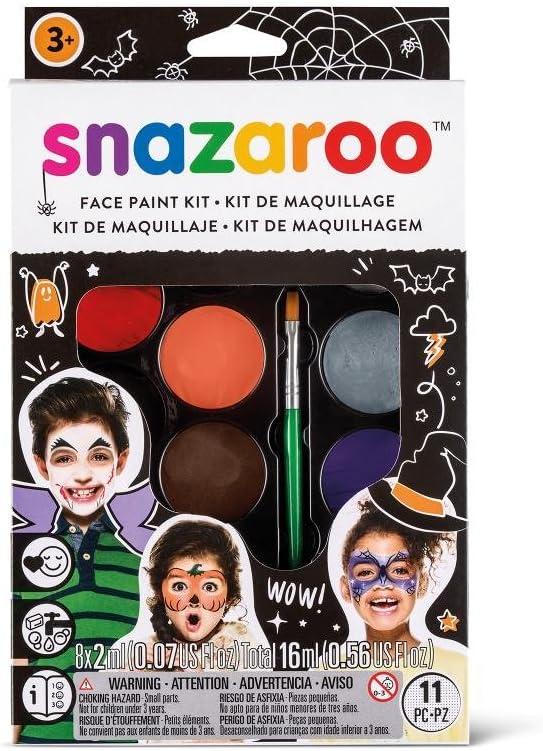"Snazaroo kit de pintura facial, maquillaje fiesta ""Halloween"""