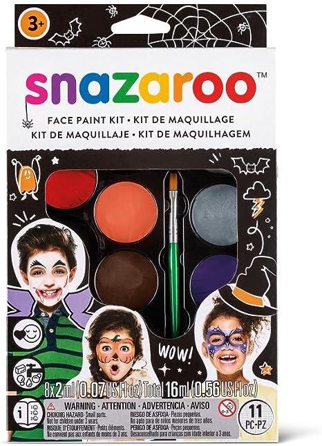 Snazaroo Kit de Pintura Facial, Multicolor: Amazon.es: Juguetes y juegos