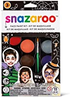 Snazaroo Face Paint Palette Kit, Halloween