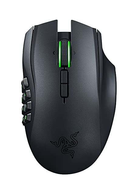 d8f7970f167 Amazon.com: Razer Naga Epic Chroma MMO Gaming Mouse - 19 Buttons - 8,200 -  Wireless: Computers & Accessories
