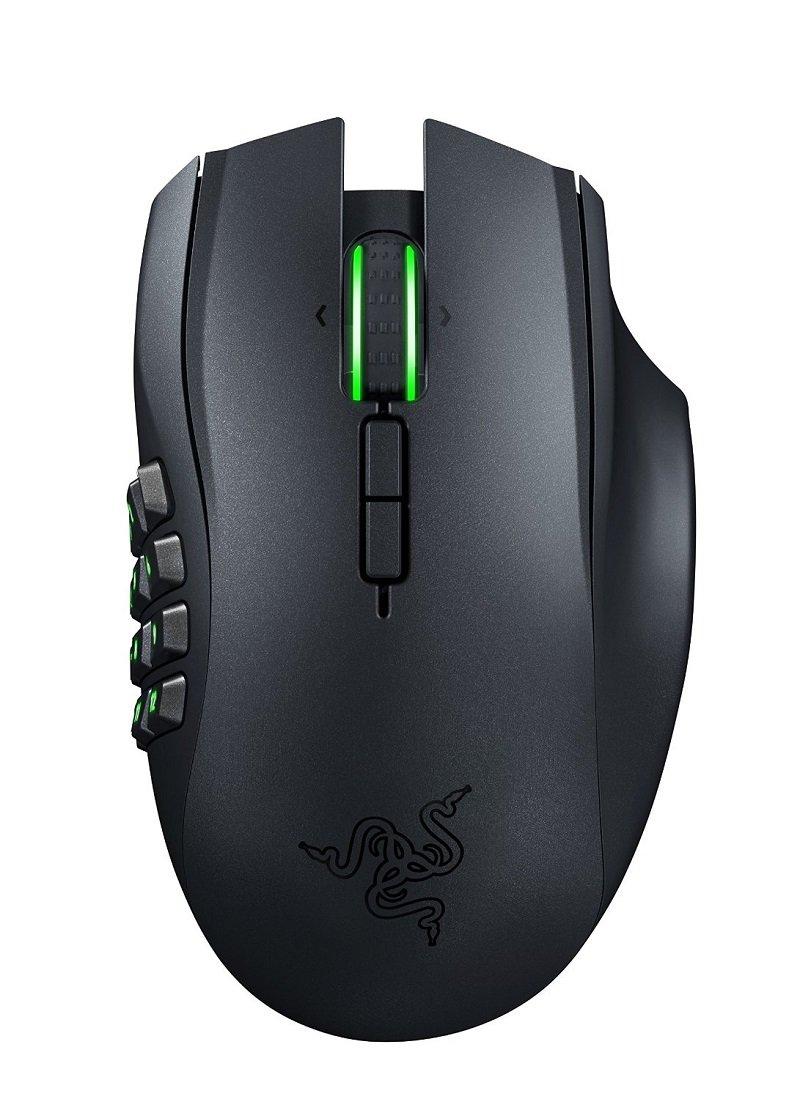Razer Naga Epic Chroma MMO Gaming Mouse - 19 Buttons - 8,200 - Wireless by Razer