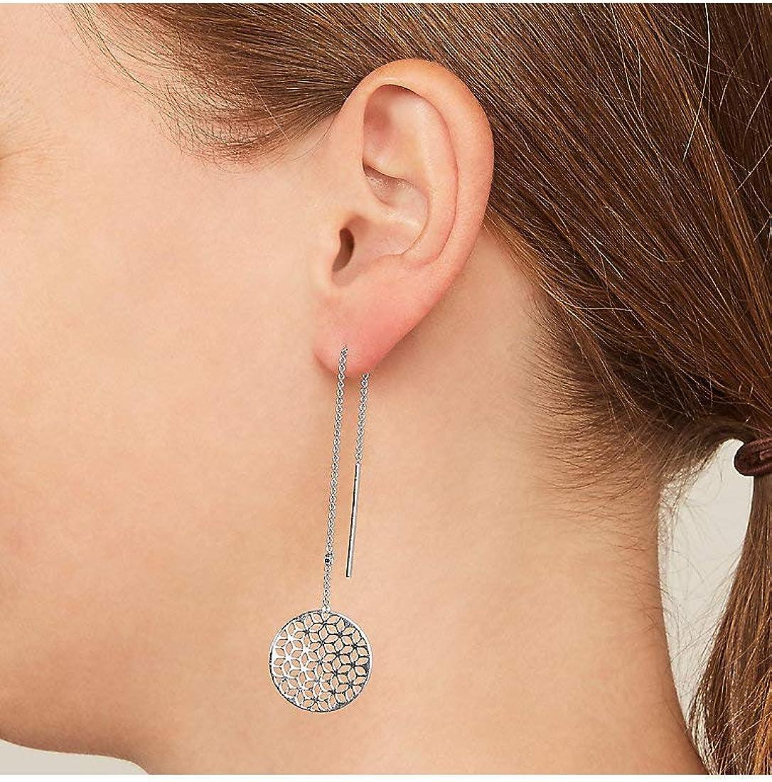 Fossil Femme Argent Boucles doreilles pendantes JFS00460040